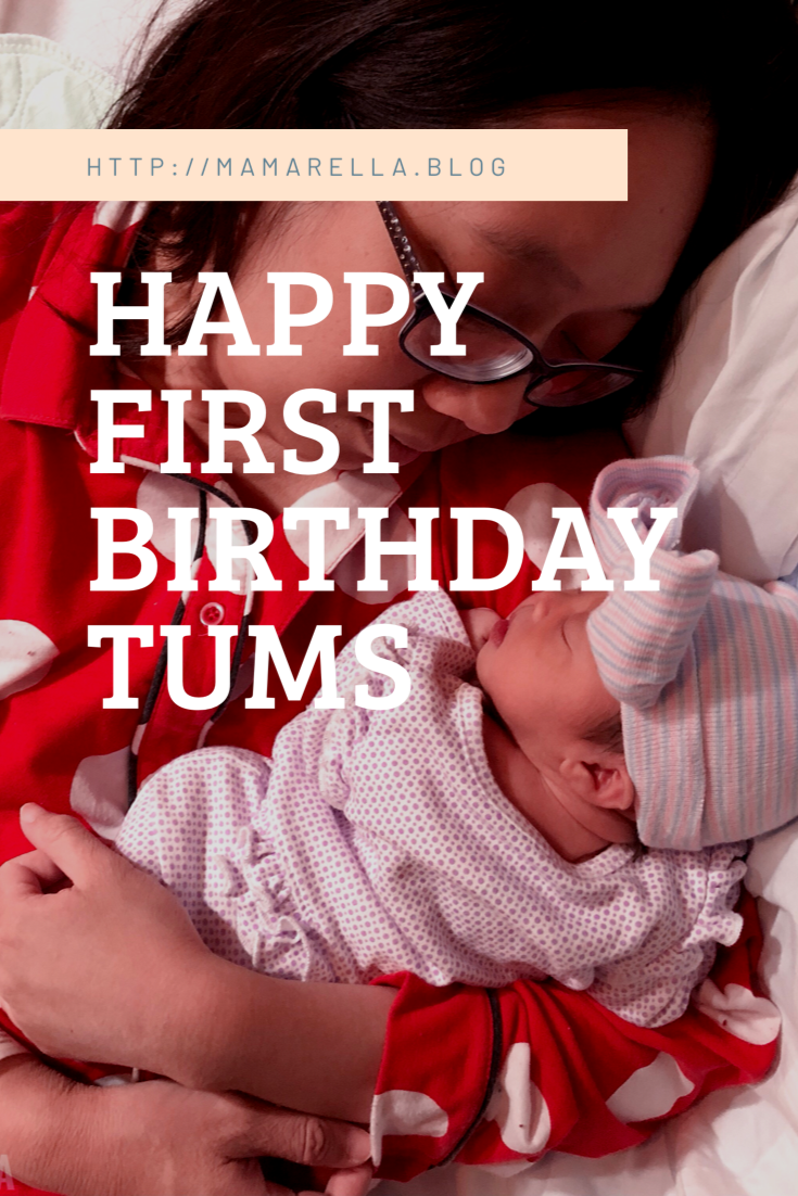 Happy First Birthday Tums!