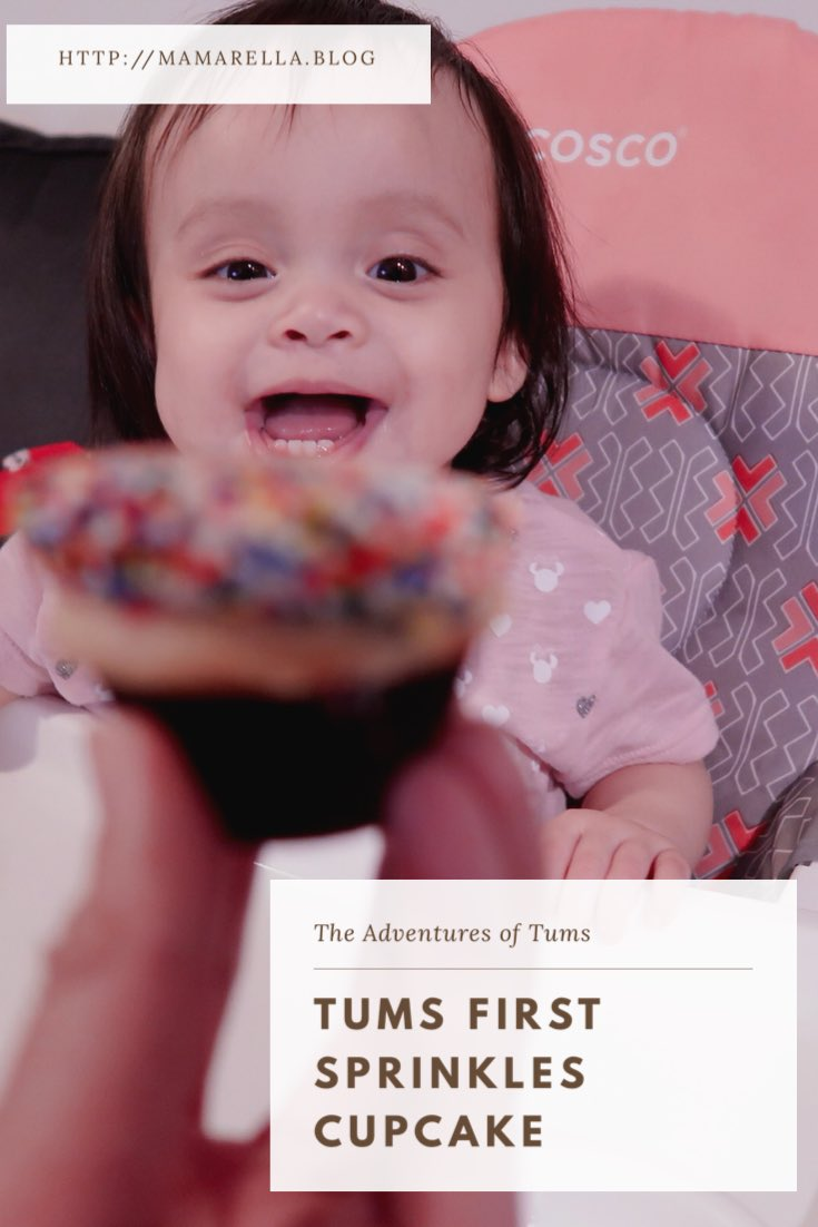 Tums' First Sprinkles Cupcake